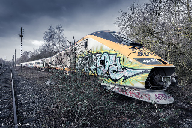 The Lost Train, Nikon D7100, Sigma 24mm F1.8 EX DG Aspherical Macro