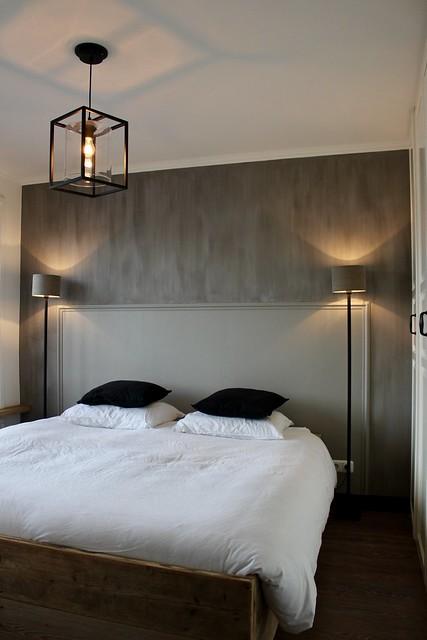 Kalkverf slaapkamer muren