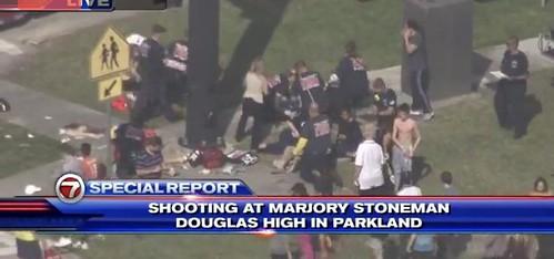 At least twenty injured in high school shooting in Parkland, Florida via JW_BM