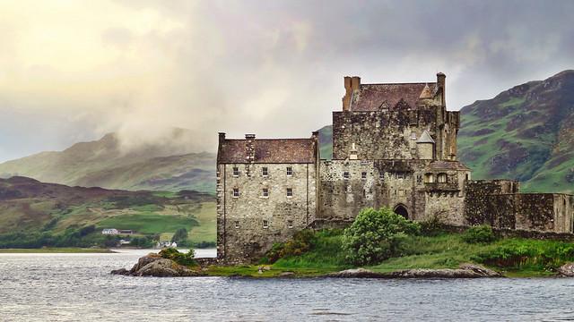 Eilean Donan Castle in Dornie, United Kingdom