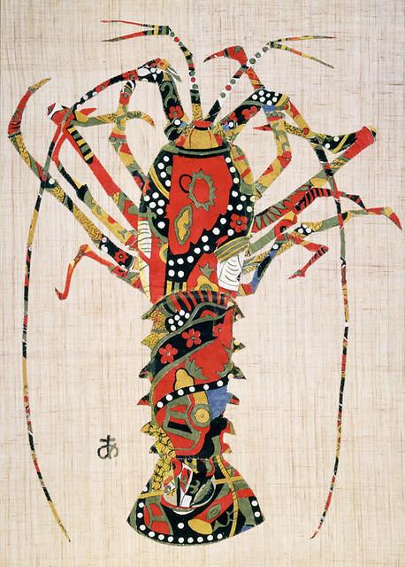 《伊勢えび》(1982年、豊田市美術館蔵)
