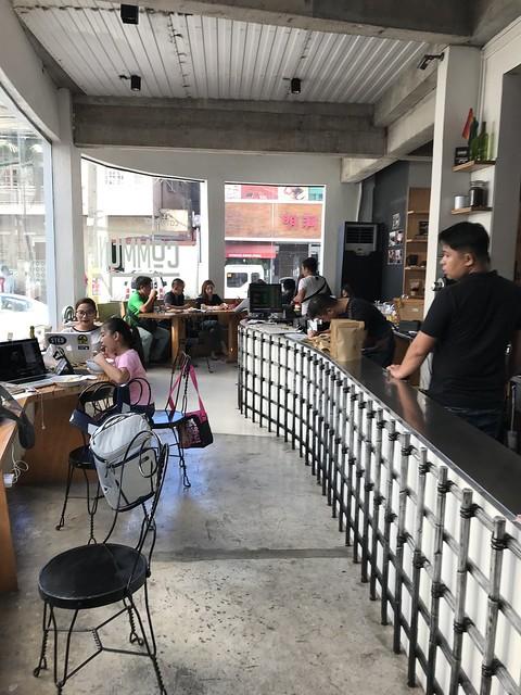 Commune Cafe Bar counter