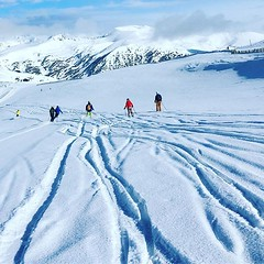 Tracks #freshtracks #ski #grandvalira