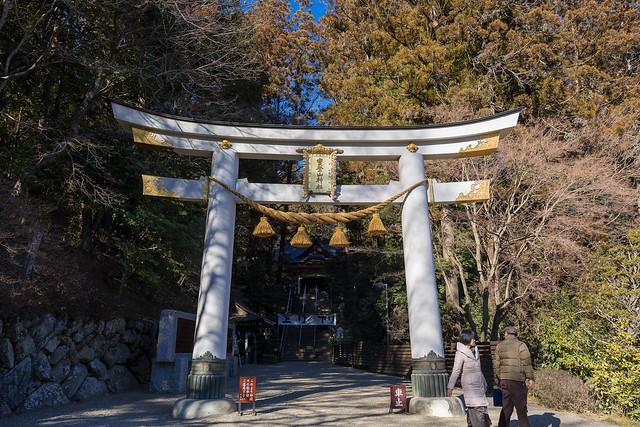 宝登山神社に下山