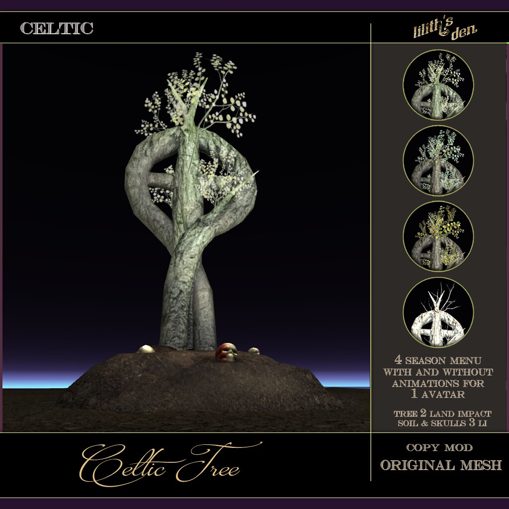Lilith's Den – Celtic Tree