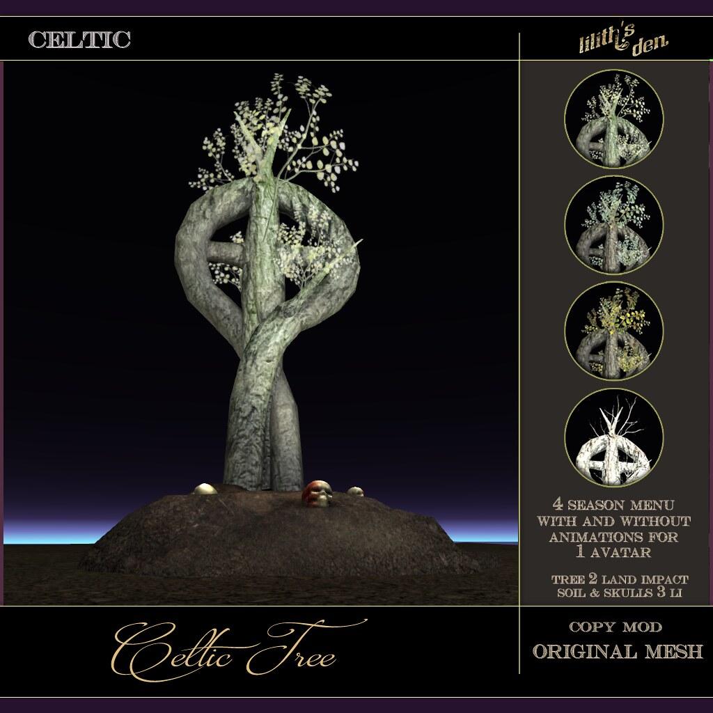 Lilith's Den - Celtic Tree - TeleportHub.com Live!