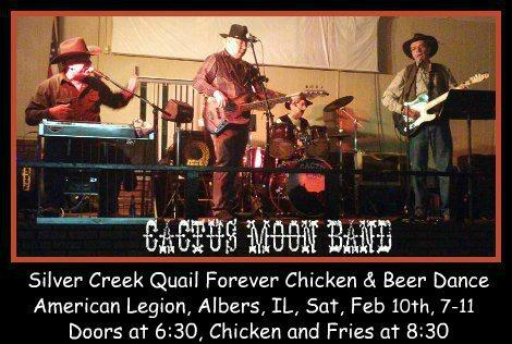 Cactus Moon Band  2-10-18