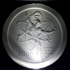 Gasparro's Y2K medal plaster model