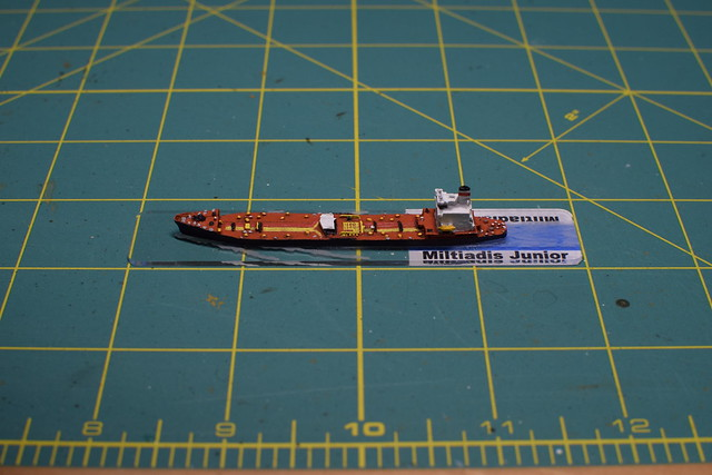 Viking Forge Sealift Pacific transport oiler 1/2400 miniature