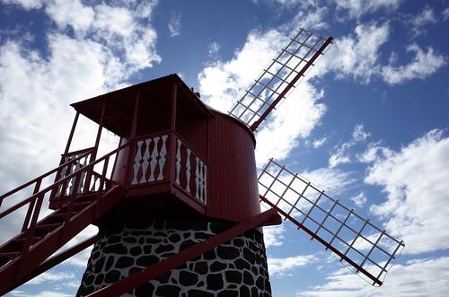 Ponta Rasa Windmill, San João, Pico Island, Azores