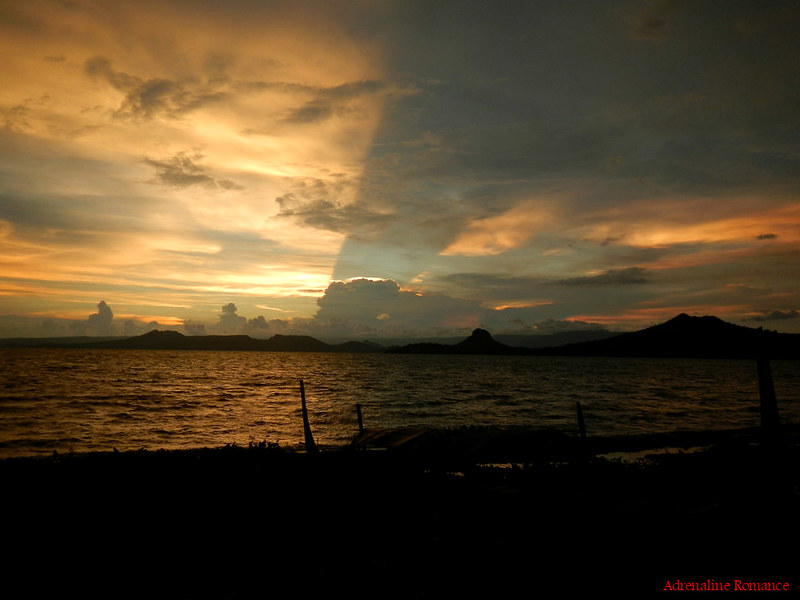 Sunset at Taal Lake