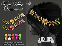 OXIDE Vera Flowers Hair Ornament @ Whimsical