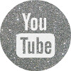 silver round youtube social media icon