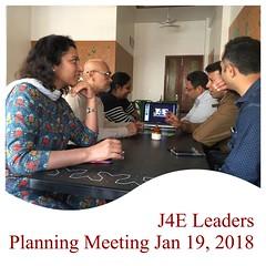 J4E Core Group meeting