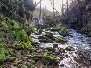 Cascada en Bustaleguín