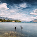 Lake Wakatipu. by Mikey Mack