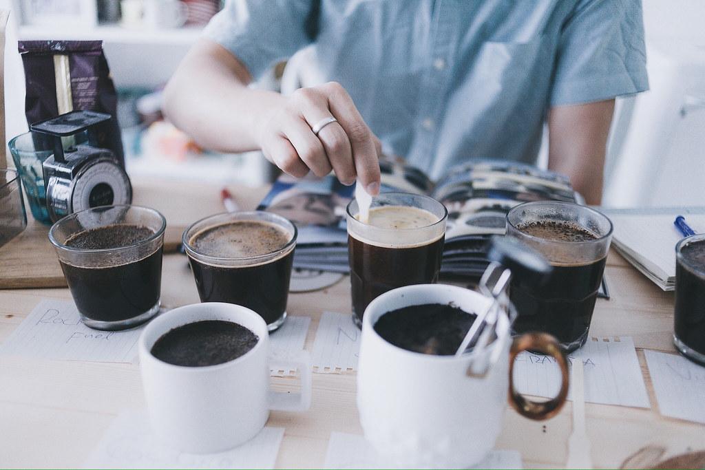 Cà phê nguyên bản - Kỹ thuật pha chế