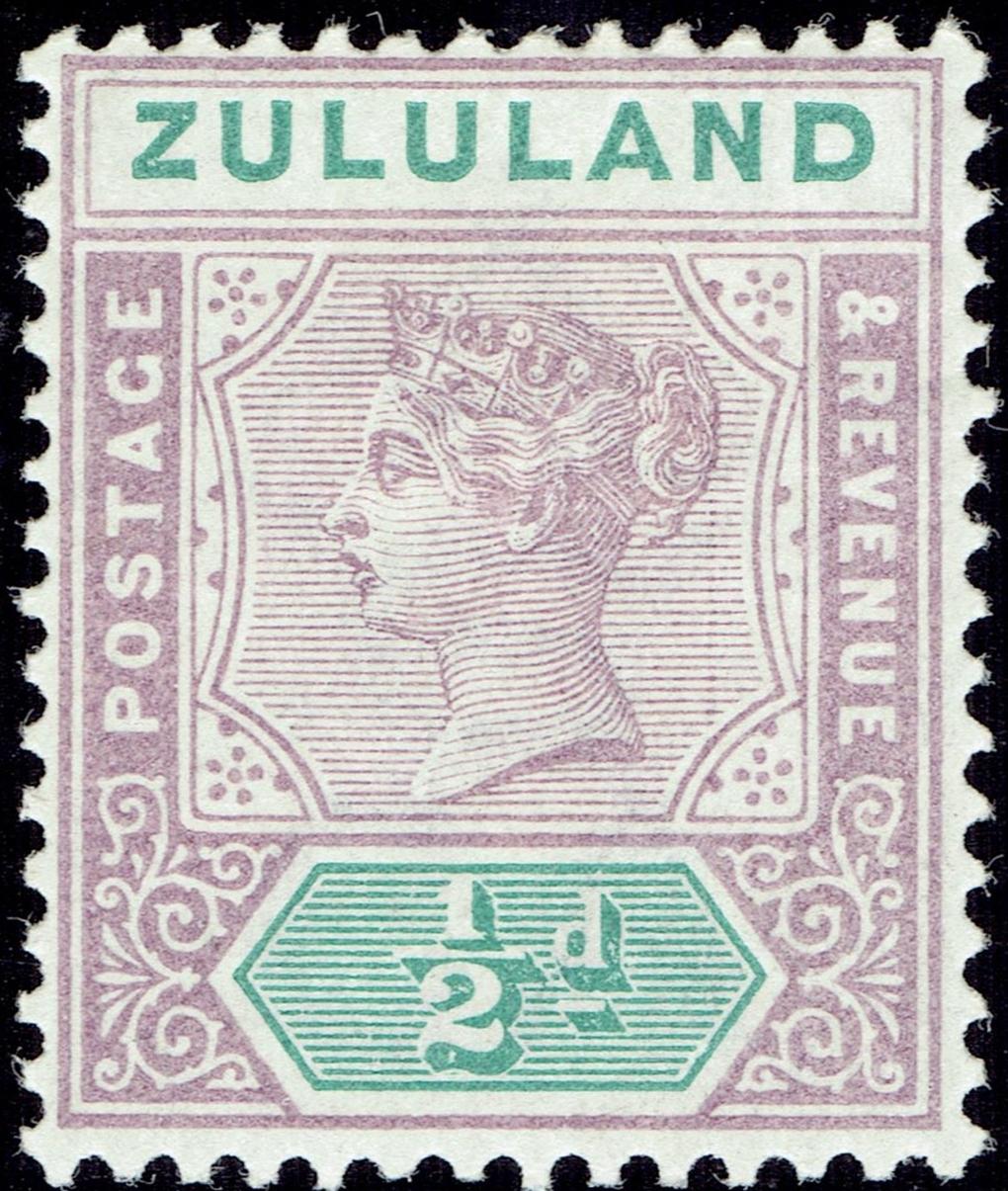 Zululand - Scott #15 (1894)