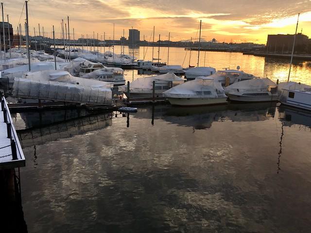 Boston - North End Sunrise.