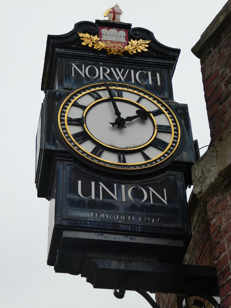 Norwich Union Clock, Surrey House, Norwich