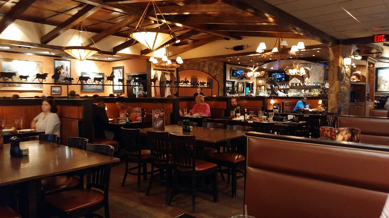 Interior of the Longhorn Steakhouse