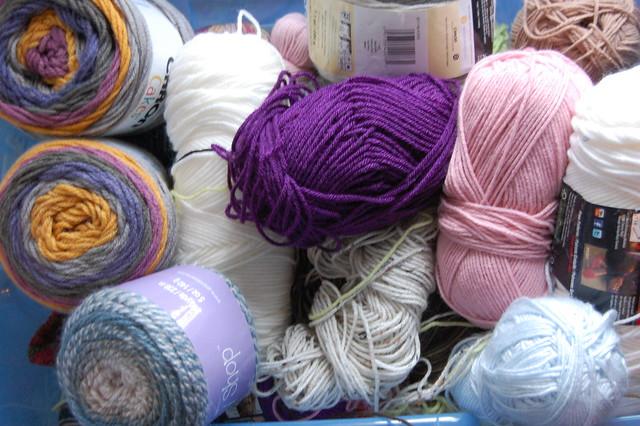 so. much. yarn.