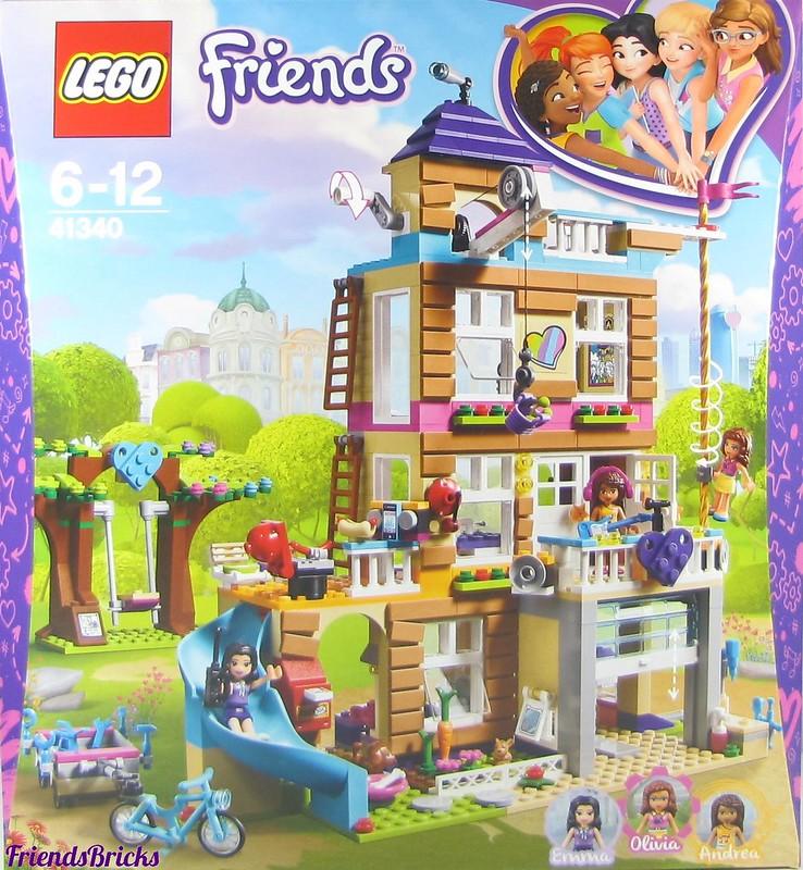 Heartlake Times Review 41340 Friendship House