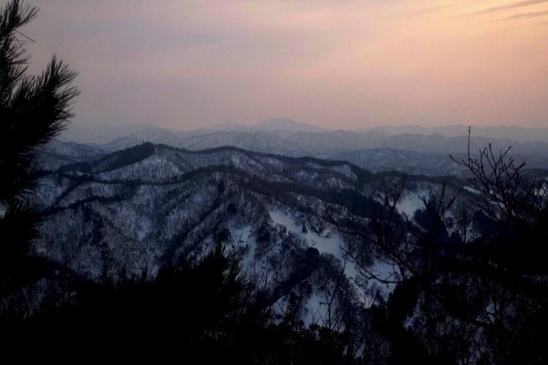 View from the Mt. HITOMOSHIYAMA