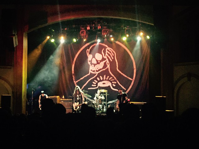 Annie Girl and the Flight & Frnkiero andthe Cellabration & Against Me! @ The Neptune Theater, Seattle, WA, 19 July 2015