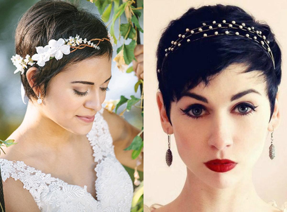 Short Pixie Wedding Hairstyles - Short Pixie 2018 3