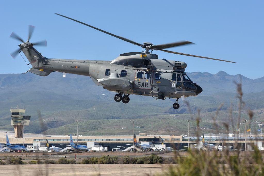 HD-21 Súper Puma del 802 Escuadrón