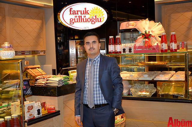 Faruk Güllüoğlu Baklava İşletme Müdürü İbrahim Alagöz