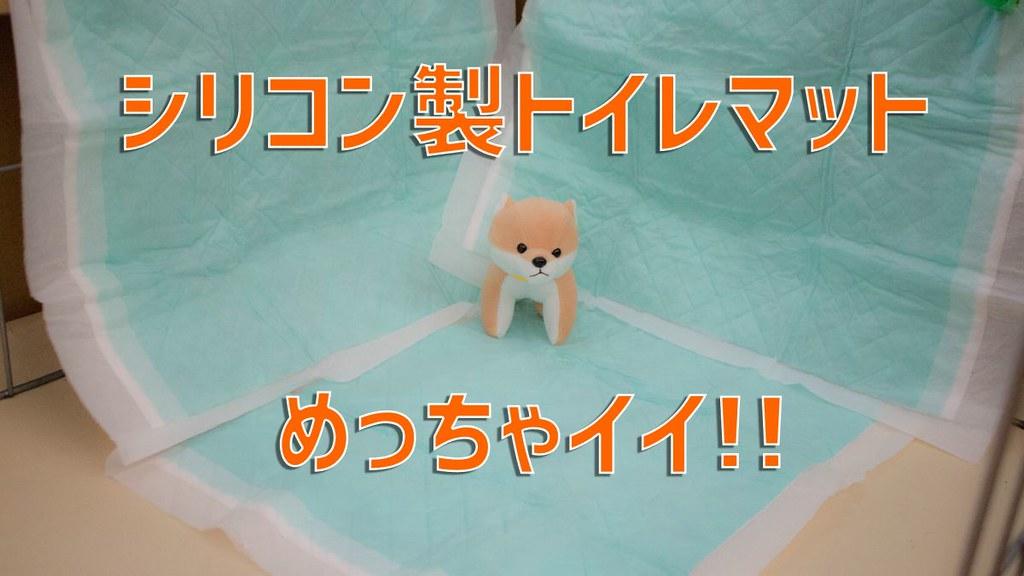 犬のシリコン製トイレマット口コミレビュー