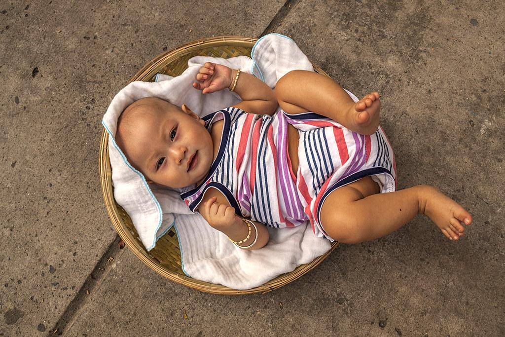 Abandoned baby ritual--Saigon 2