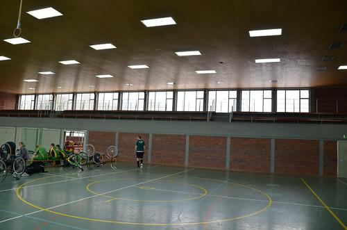 Turnier der Radball NRW Landesliga Süd in Velbert
