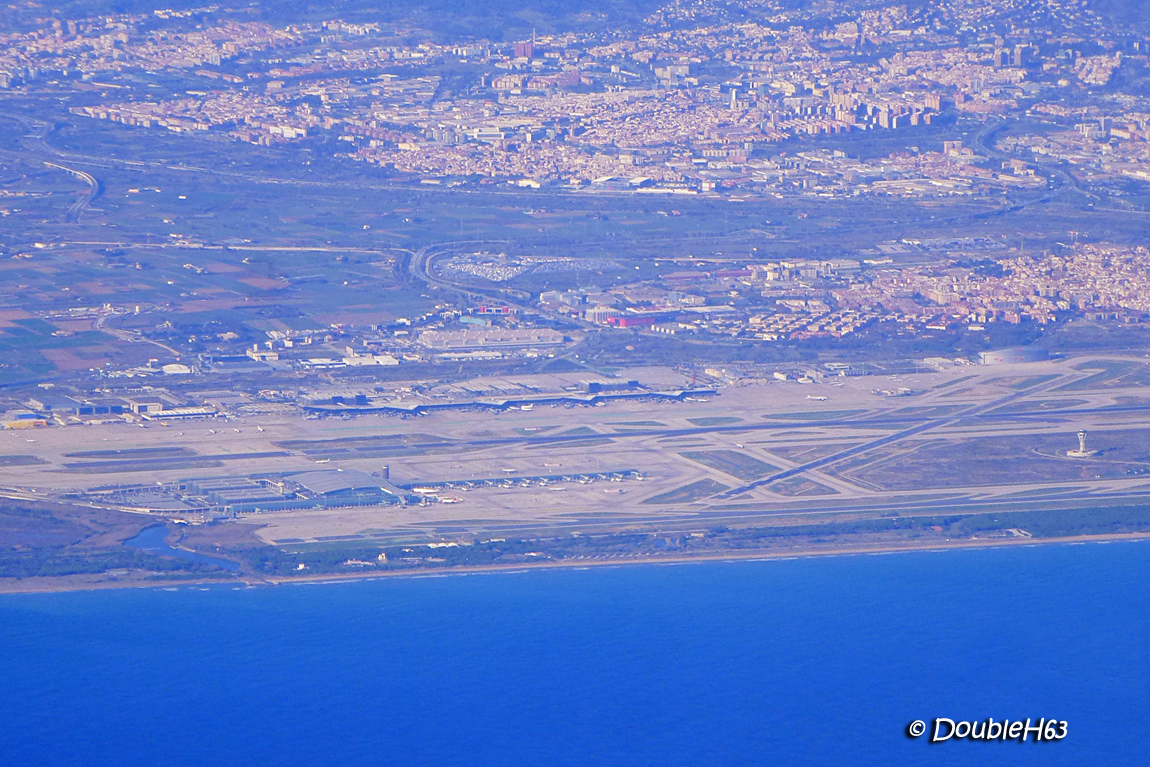 BCN from the air