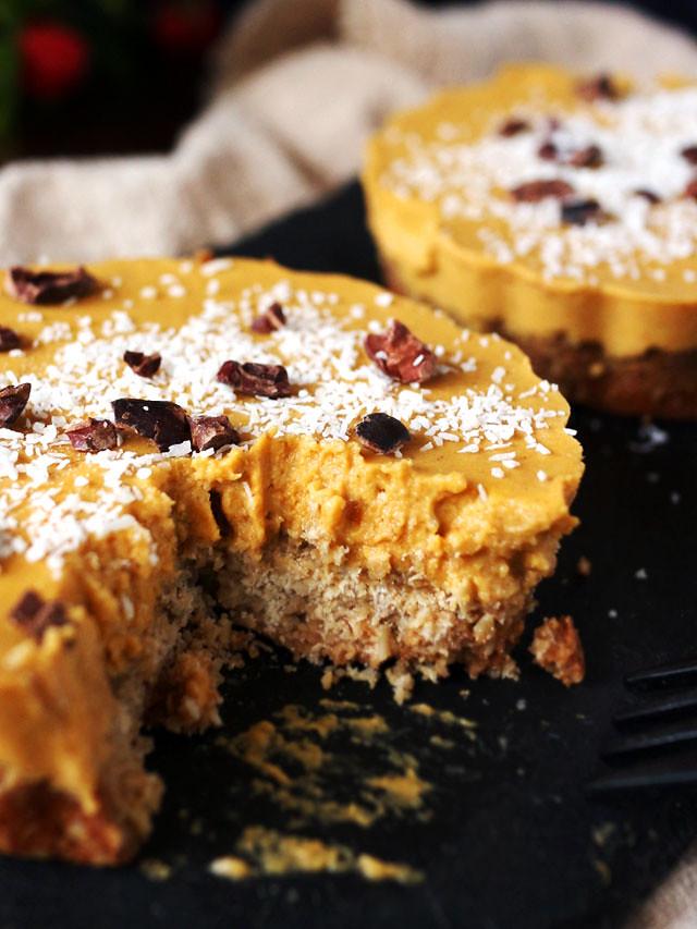 迷你椰香南瓜派 (全素,無麵粉,無堅果) mini-coconut-pumpkin-pie (10)