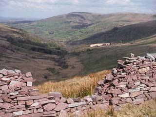 View from Bwlch y Duwynt
