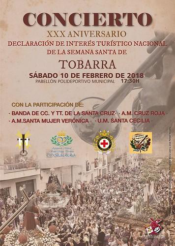 CARTEL CONCIERTO XXX ANIVERSARIO DECLARACIÓN DE INTERÉS TURÍSTICO