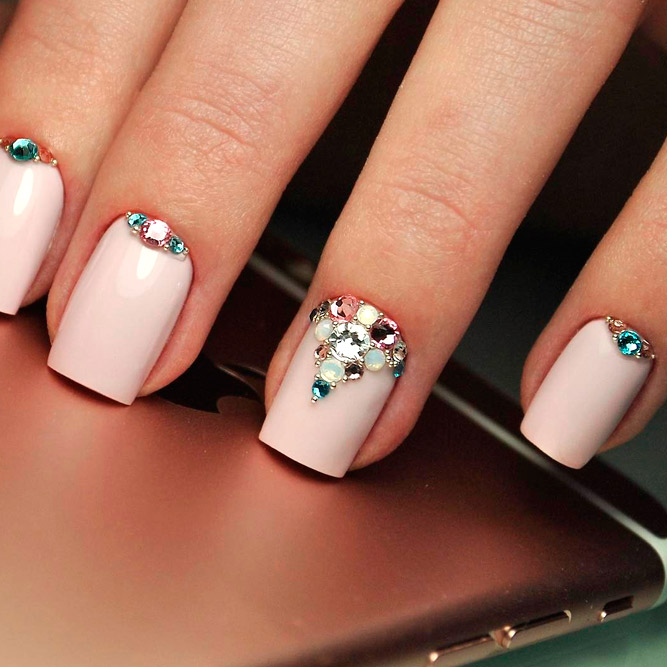 Trendy Designs for Short Nails - Trendy Designs For Short Square Nails 2018 - Nails C