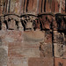 Croxden, Staffordshire, abbey ruins, capital