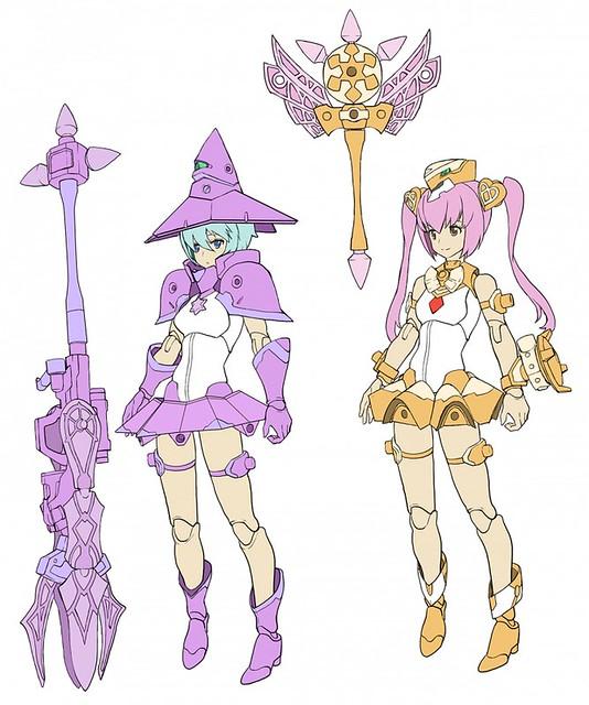 你根本是武鬥派魔法少女吧!?《女神裝置(メガミデバイス)》第七彈「Chaos&Pretty 魔法少女(マジカルガール)」