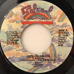 SKYY:LET'S CELEBRATE(LABEL SIDE-A)