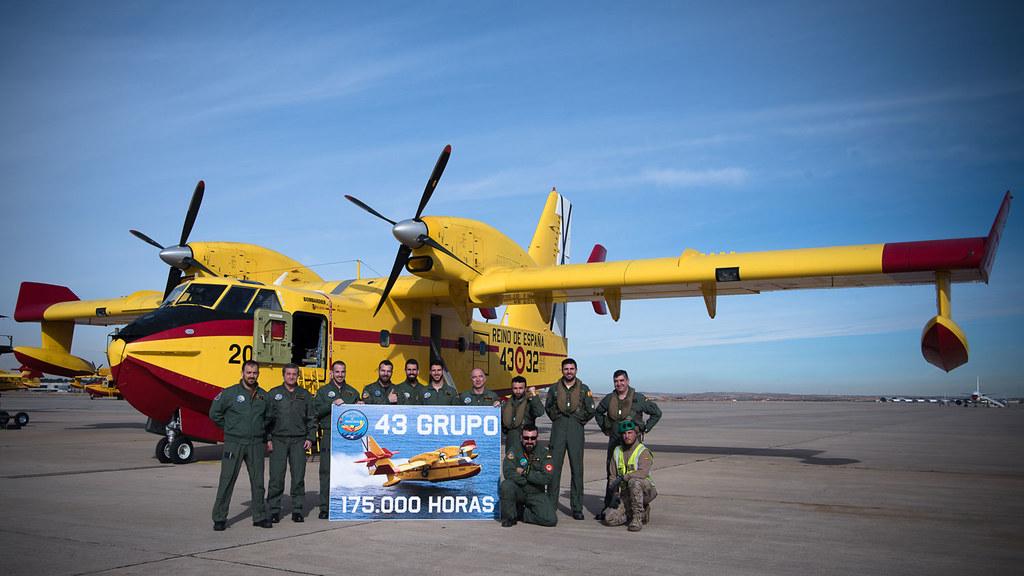 Foto de la tripulación del 43 Grupo