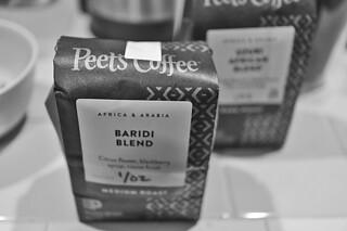 Peets Coffee - Baridi Blend bw