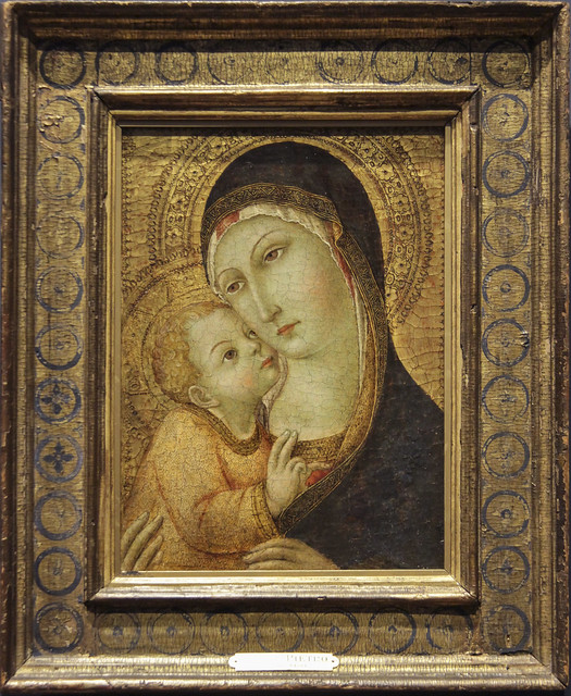 Madonna and Child, 15th century, Sano di Pietro