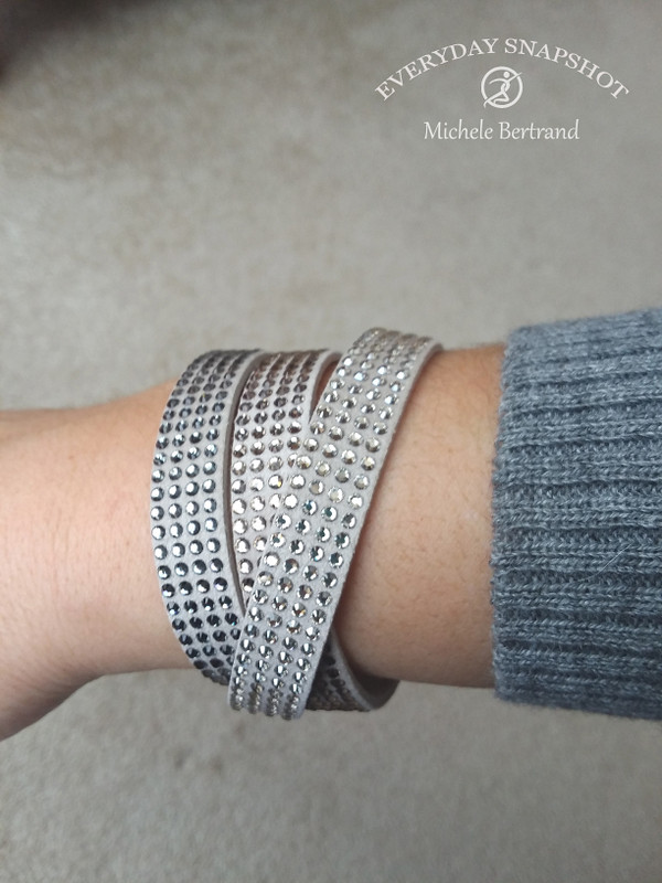 Tri Wrap Bracelet - Grey (3) copy