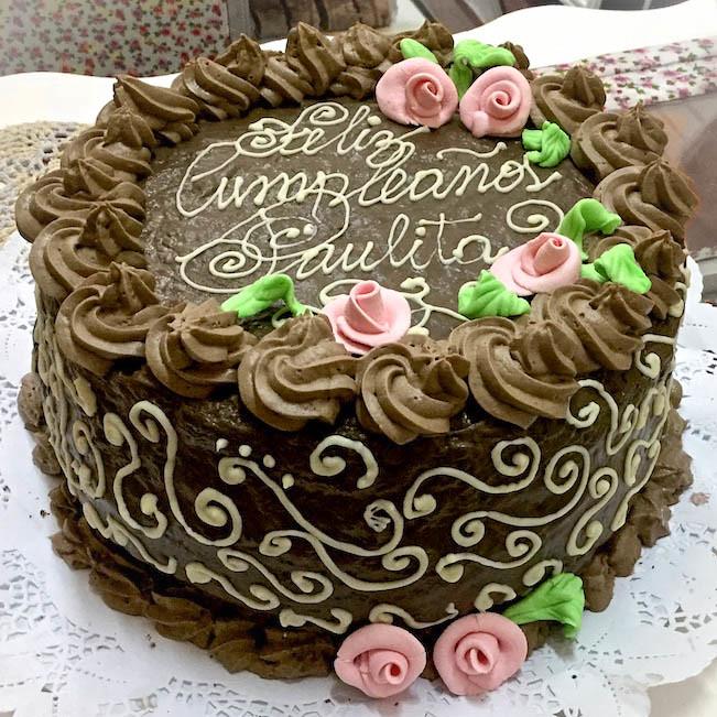 Tortas tradicionales de Omi Gretchen - Torta de chocolate