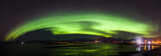 Northern Lights - Hofn, Iceland - Seascape photography