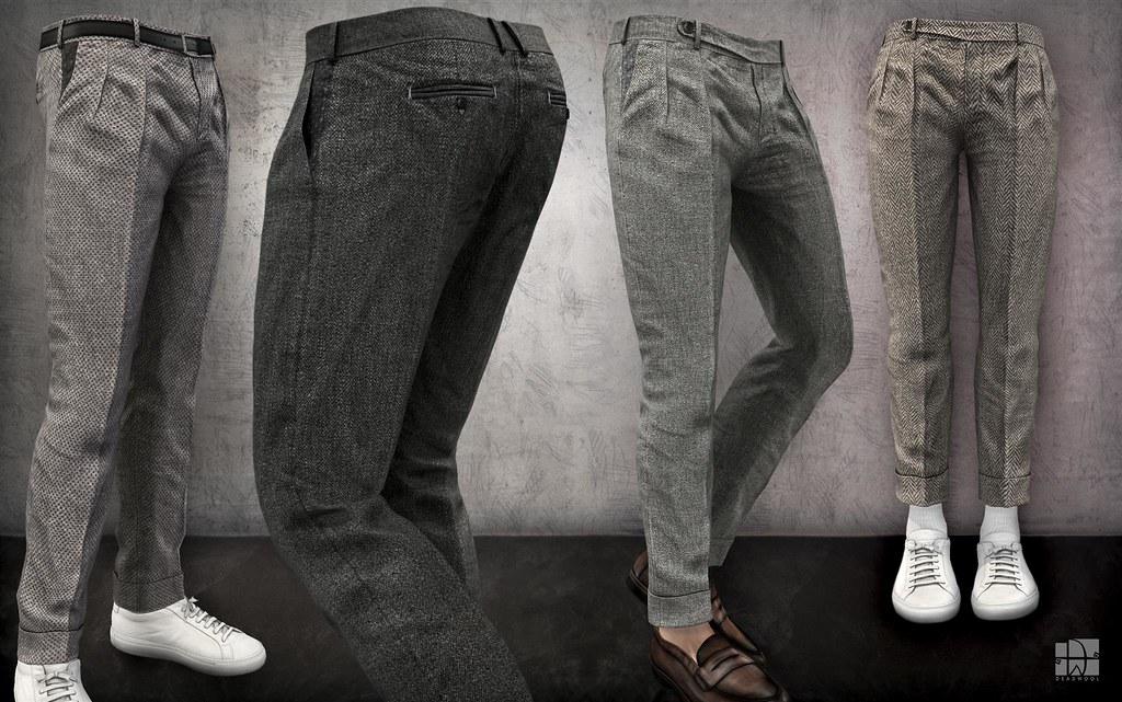 [Deadwool] Tweed trousers for Uber